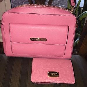Michael Kors shoulder bag and wallet bundle